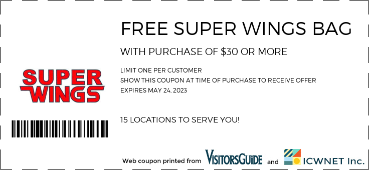 FREE SUPERWINGS BAG