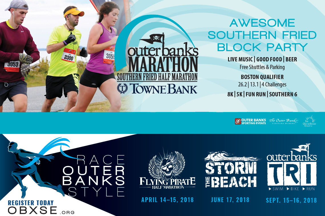Outer Banks Marathon and Half Marathon