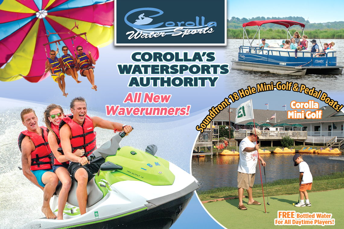 $15 OFF WAVERUNNER Saturday – Monday (Any Time Slot) AND/OR